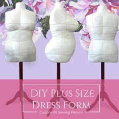 boostrap dress form (plus size)