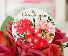 Gift tagsThank You gift tagsstickerswatercolor by BestDesignland