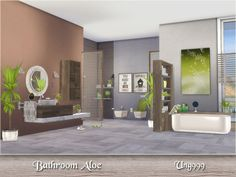 TSR : Bathroom Aloe by Ung999.