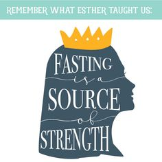 Why do we fast? Young Women lesson - text this image to your girls after the lesson just before Fast Sunday to remind them what they learned!  So awesome!  www.theredheadedhostess.com