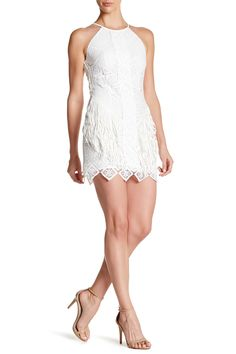 Chelsi Lace Fringe Dress by Greylin on @nordstrom_rack