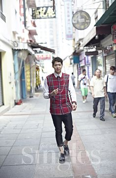 Park Yoochun Is Loving Macau In Singles' July 2014 Issue | Couch Kimchi