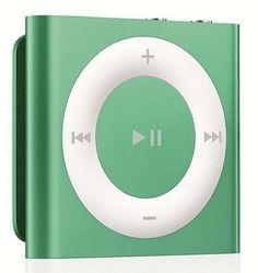 $78.99  APPLE iPOD SHUFFLE 4TH GENERATION 2GB GREEN W/ BONUS $20 iTUNES GIFT CARD NEW! #Apple