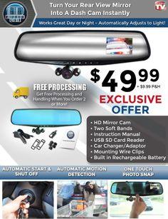 HD Mirror Cam Offer