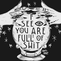 @thezentrickster  LMAO #iseeyouarefullofshit #psychic #truth