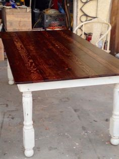 Beautiful custom built Farmhouse table by Bambooserie Vintage