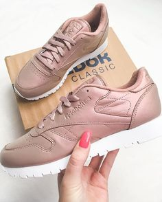 Sneakers femme - Reebok Classic Pearlized (©kiimscha)
