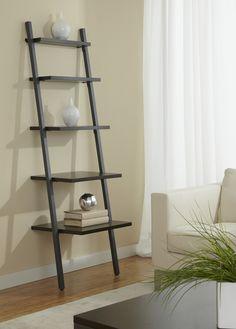 Jesper Office Five Tier Ladder Bookcase | AllModern