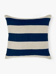 Wide Stripe Cushion