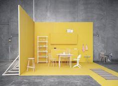 Minimal exhibition design