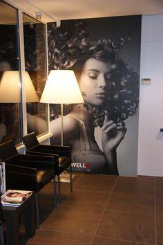 Onze wachtruimte Salon Design, Barber Shop, Table Lamp, Modern, Hair, House, Home Decor, Business Inspiration, Lamp Table