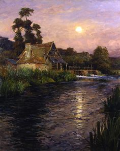 Louis Aston Knight  (1873 - 1948)  Brittany Evening