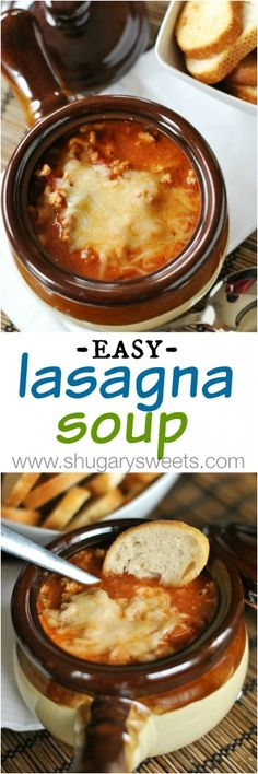 Lasagna Soup: the perfect weeknight dinner, easy and delicious