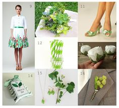 Green wedding ideas. Lovely handmade items for your green wedding!   Busy? Visit my blog for busy people at www.53countesses.blogspot.com