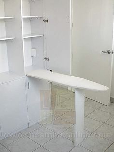 Ideas casa on pinterest ironing board hanger shower for Mesa para planchar