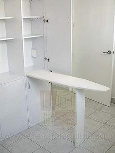 Ideas casa on pinterest ironing board hanger shower for Mesa para planchar