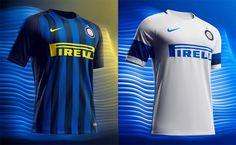 Camisas da Inter de Milao 2016-2017 Nike