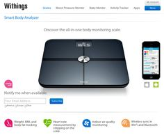 Discover the all-in-one body monitoring scale. Check out its features: - Weight, BMI and body fat tracking - Heart rate measurement by stepping on the scale - Indoor air quality monitoring - Wireless sync in Wi-Fi and Bluetooth Learn more: http://www.withings.com/en/bodyanalyzer/keepmeinformed