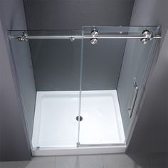 Square 48 inch shower base