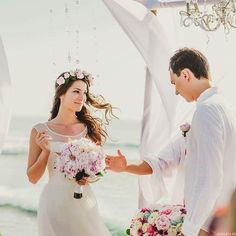 Beautiful Bali wedding | This is amazing! Head over to Bali Angels where you can see more of their unique works http://www.bridestory.com/bali-angels/instagram