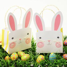 Easter Bunny Party Bags from @Postbox Party from Not On The High Street #easter
