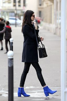 Kendall Jenner. Street Style in Paris