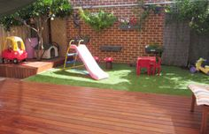 73 Small Backyard Playground Landscaping Ideas on a Budget - Decoradeas Backyard Playground, Backyard For Kids, Backyard Ideas, Playground Kids, Backyard Projects, Patio Ideas, Perth, Kid Friendly Backyard, Small Gardens