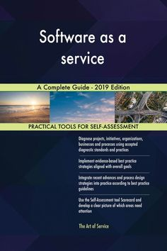 Buy Software as a service A Complete Guide - 2019 Edition by Gerardus Blokdyk and Read this Book on Kobo's Free Apps. Discover Kobo's Vast Collection of Ebooks and Audiobooks Today - Over 4 Million Titles! Self Assessment, Design Strategy, Cloud Based, Terms Of Service, Audiobooks, Software, Ebooks, This Book, Competitor Analysis