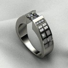 Reasons I'm single # 900.11. Being a Doctor Who fan, I might be tempted to propose using this TARDIS inspired ring.