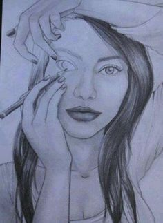 Drawing. Clever! #art