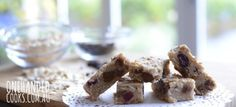 Chew-Me Oat Fruit Bars - One Handed Cooks