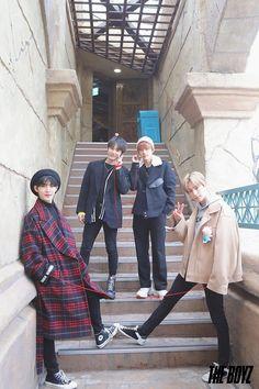 ⋆ the boyz ⋆. Lotte World, Hyun Jae, Bae, Chang Min, Boy Idols, Fandom, We The Best, Golden Child, Kpop Boy