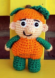Pumpkin Mini Spook Crochet Pattern from Made by Mary