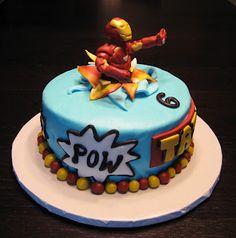 2  Custom Cakes by Julie: Iron Man Cake
