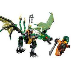 LEGO® Ninjago The Green NRG Dragon 70593 : Target