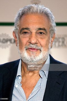 Opera singer Placido Domingo attends the Operalia 2014 Press Conference held at the Dorothy Chandler Pavilion on August 26, 2014 in Los Angeles, California.