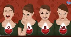 Human blood is grouped into 4 different blood types: A, B, AB, and O. Our blood type group is determined from birth. Experts explain that each blood group has different characteristics. Health Facts, Health And Nutrition, Health And Wellness, Health Fitness, Proper Nutrition, Different Blood Types, Infection Des Sinus, Water Retention Remedies, Blood Type Diet