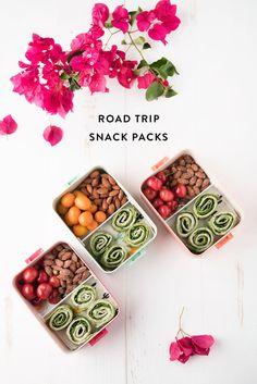 road trip snack pack