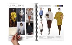 FALL COLOR SCHEME CASHMERE + PENCIL SKIRT  KNIT & CUT AND SEW TREND BOOK FALL WINTER 15-16