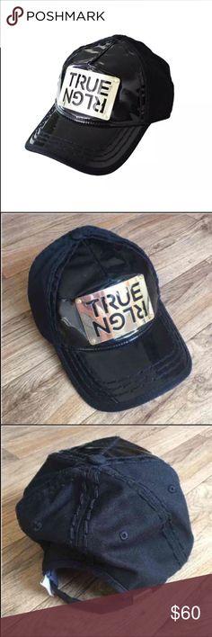 e9601994e69 New True Religion Unisex Black Hat Cap New True Religion Unisex Hat Color   Black Size