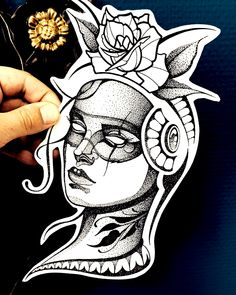 New Design - Dotwork Wannado available - . Best Tattoo Designs, Tattoo Designs For Women, Tattoos For Women, Tattoo Sketches, Tattoo Drawings, Unique Tattoos, Cool Tattoos, Blackwork, Traditional Tattoo Design