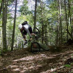 First Crash Freeriding A Bike. Burke Mountain 2000