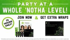 Have You Tried That Crazy Wrap Thing? | It Works. Bogo wraps for new distributors.  This is the time to join our team. $200 potential  in wrap cash alone just for signing up. Sign 4 customers in 30 days and get $120 in free products. Plus be eligible to earn  the $500 #RUBY #BONUS.