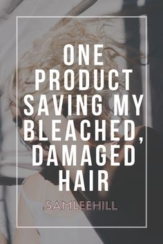 How did I save my bleached, damaged hair? It was one cheap, easy to find product that helped me get back to long, healthy hair in less than a month Hair A, Dry Hair, Hair Like Straw, My Beauty Routine, Pure Coconut Oil, Healthier Hair, Liking Someone, Save Me