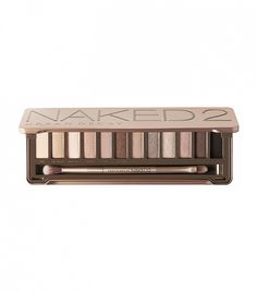 Vanilla, sand, taupe, and deep, chocolate-y browns // Naked Palette 2 by Urban Decay