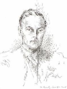 Beverley Nichols by Cecil Beaton.