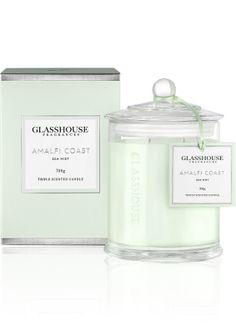 Glasshouse Amalfi Coast Sea Mist Limited Edition Deluxe Candle