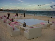 Image result for rosewood mayakoba beach wedding
