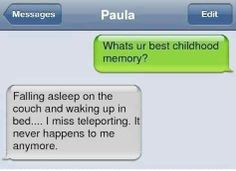 What's Your Best Childhood Memory ?
