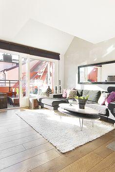Jurnal de design interior -Penthouse de 67 m² în Stockholm